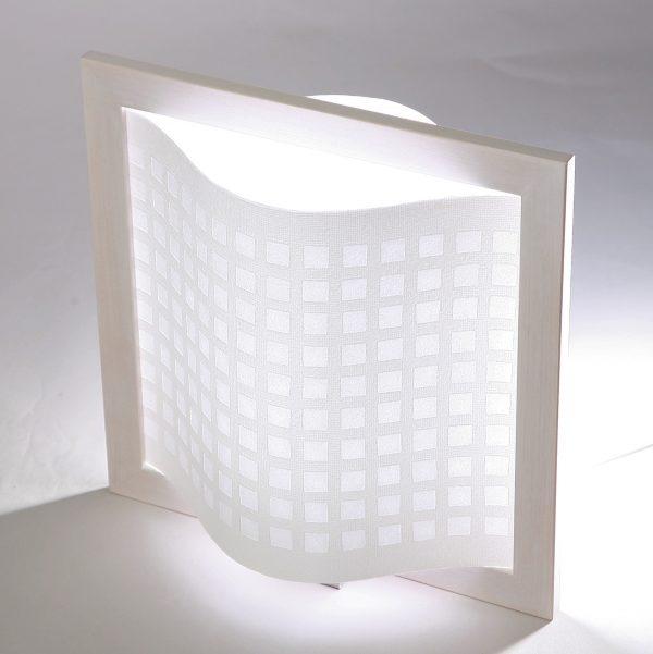 Valaisin / Ikkuna - Valkoinen-0