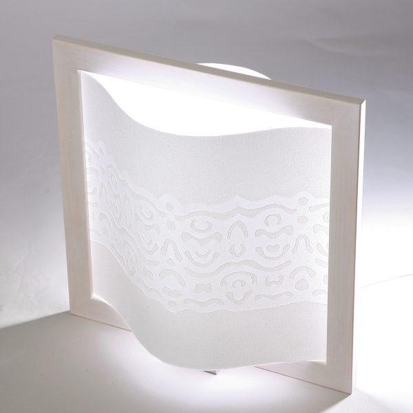 Valaisin / Kristalli - Valkoinen-0