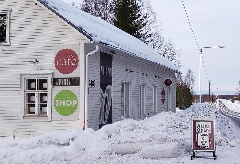 Paperivalo shop & cafe avautuu tänään