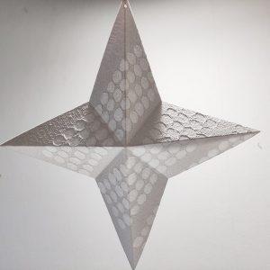 pilkku paperitähti joulukoriste paperitaidetta