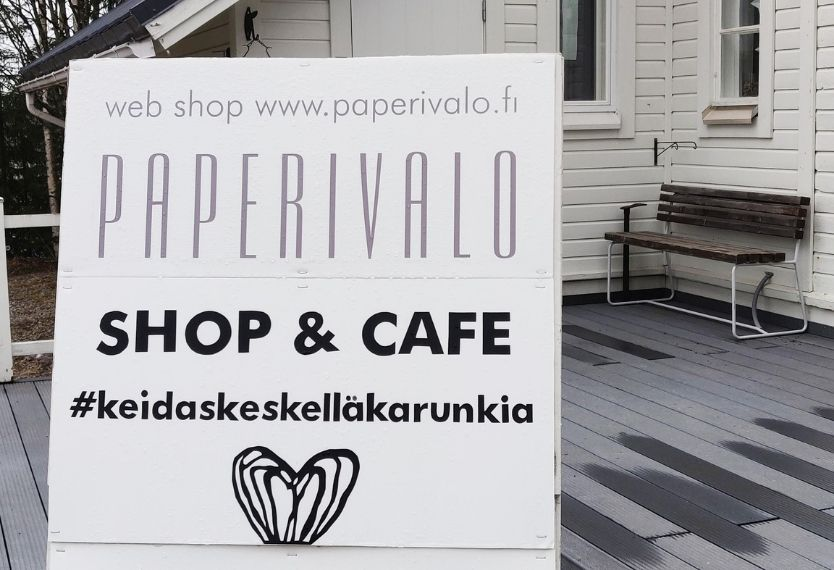 Shop on kiinni 2 vk, avaamme 24.5.2021